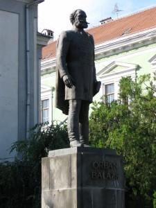 2008.06.23. Erdély, 03-Székelyudvarhely, Orbán Balázs szobraIMG 0144