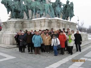 2010.02.10. Budapest, a Hősök terén, a Szépművészeti múzeumba menet  026