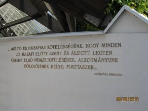 2010.09.28. Ópusztaszer, A Nemzeti emlékparkban 002